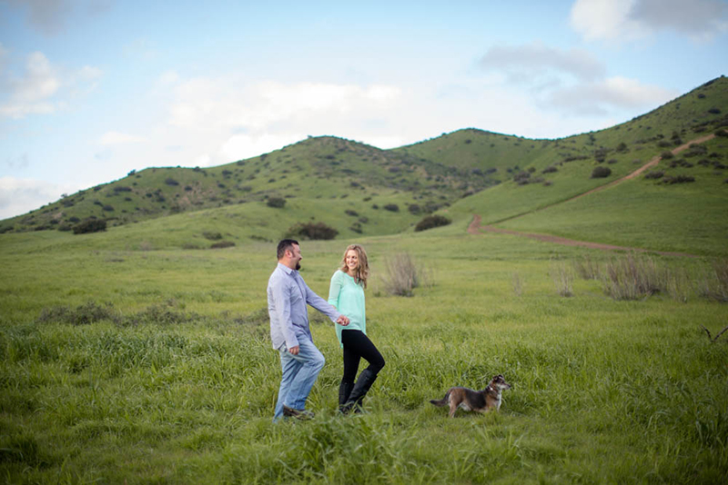 Los Angeles Hills Engagement -6