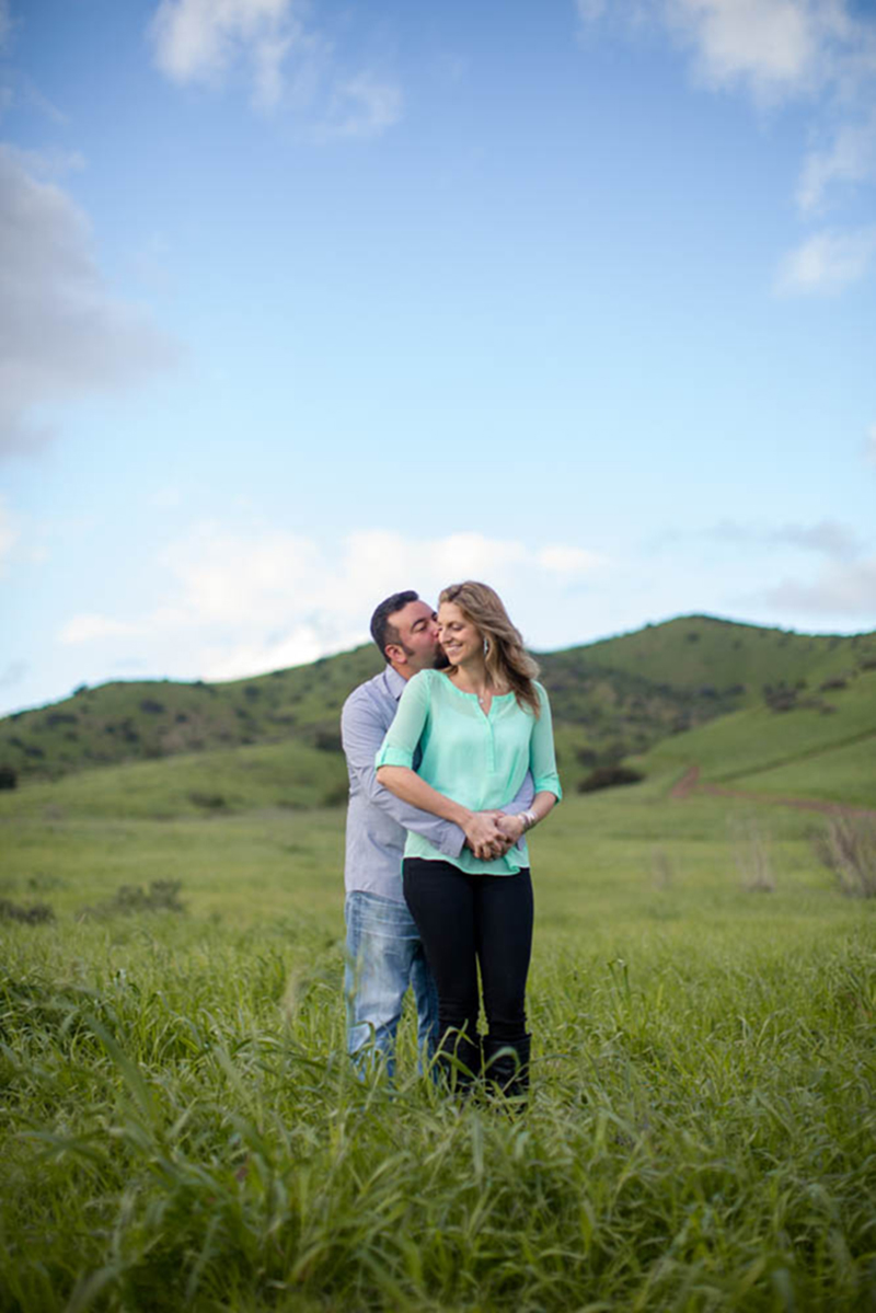 Los Angeles Hills Engagement -7