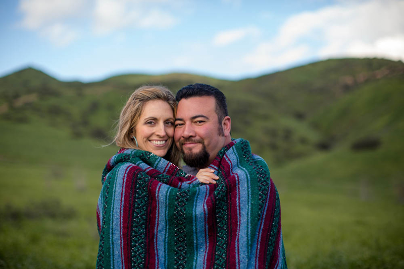 Los Angeles Hills Engagement -9